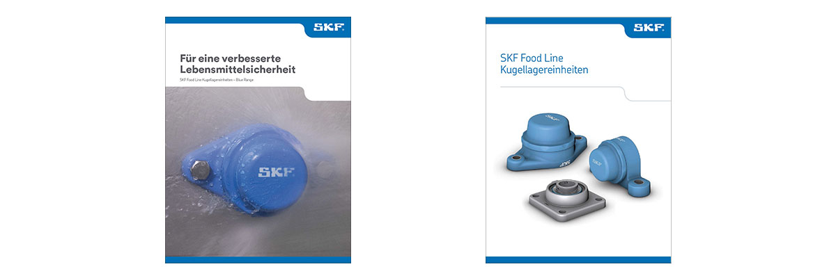 SKF Food Line Kugellagereinheiten Blue Range