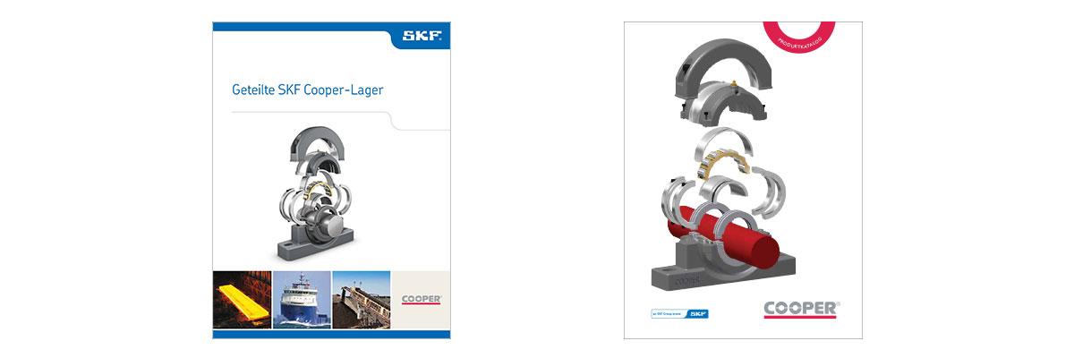 Neue Reihe geteilten Pendelrollenlager von SKF/Cooper